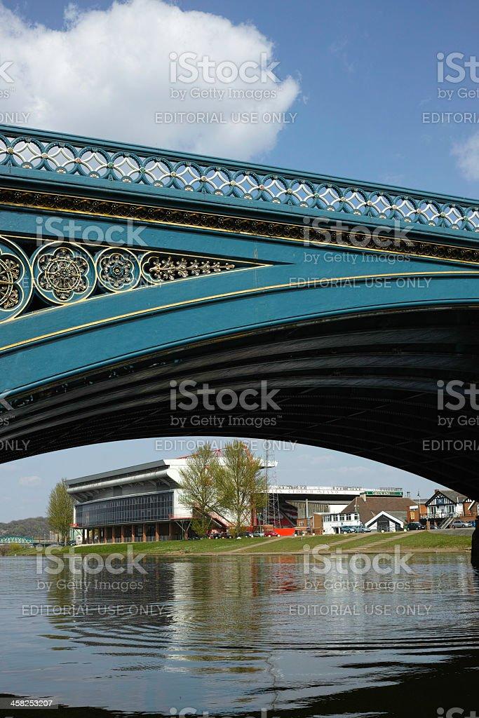 Trent Bridge, Nottingham. stock photo