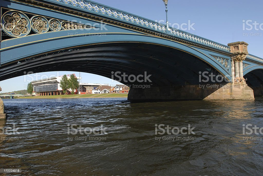 Trent Bridge stock photo
