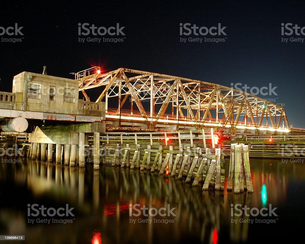 Trent River Bridge stock photo