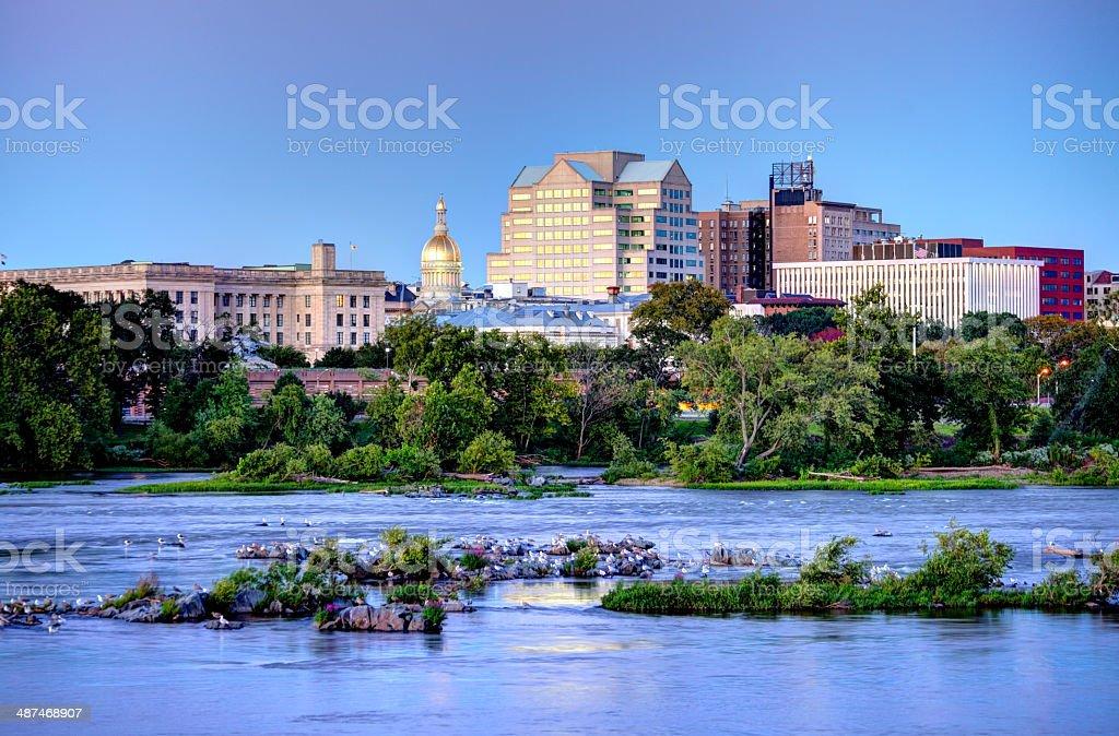 Trenton New Jersey stock photo