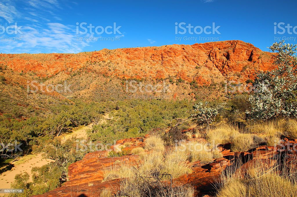 Trephina Gorge, Australia stock photo