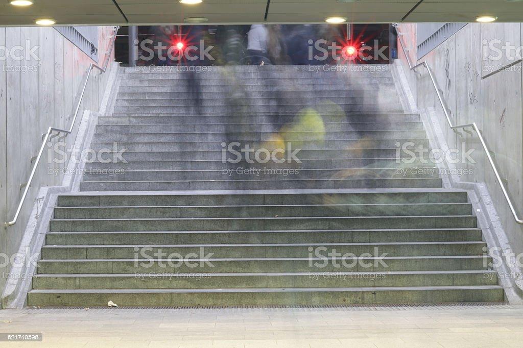 Treppenstufen stock photo