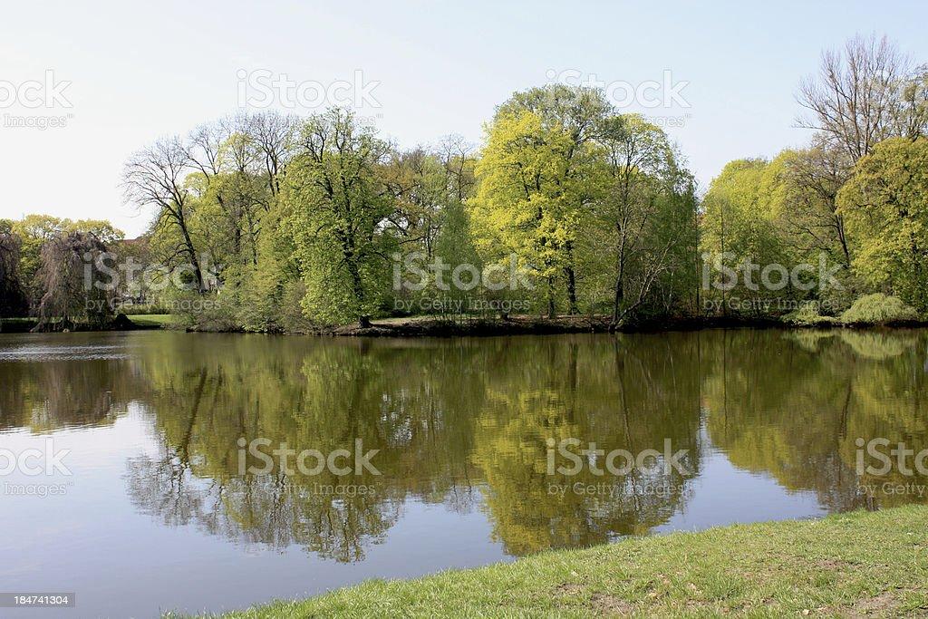 Treptower Park Berlin royalty-free stock photo