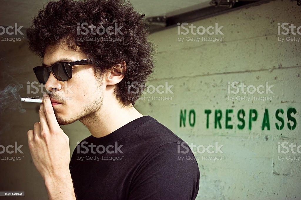 Trespass royalty-free stock photo