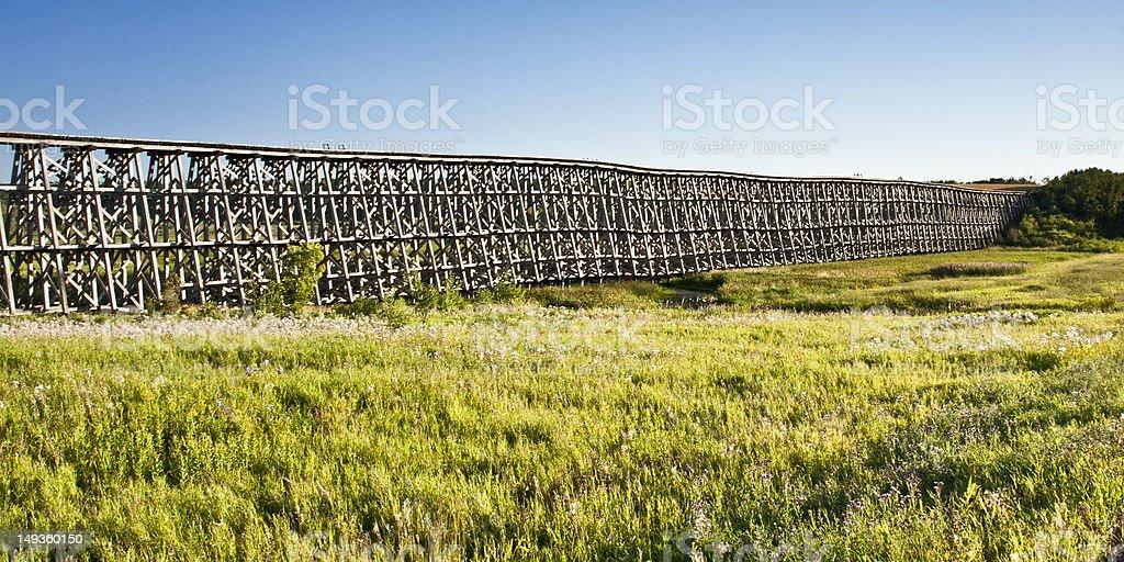 Trestle Bridge stock photo