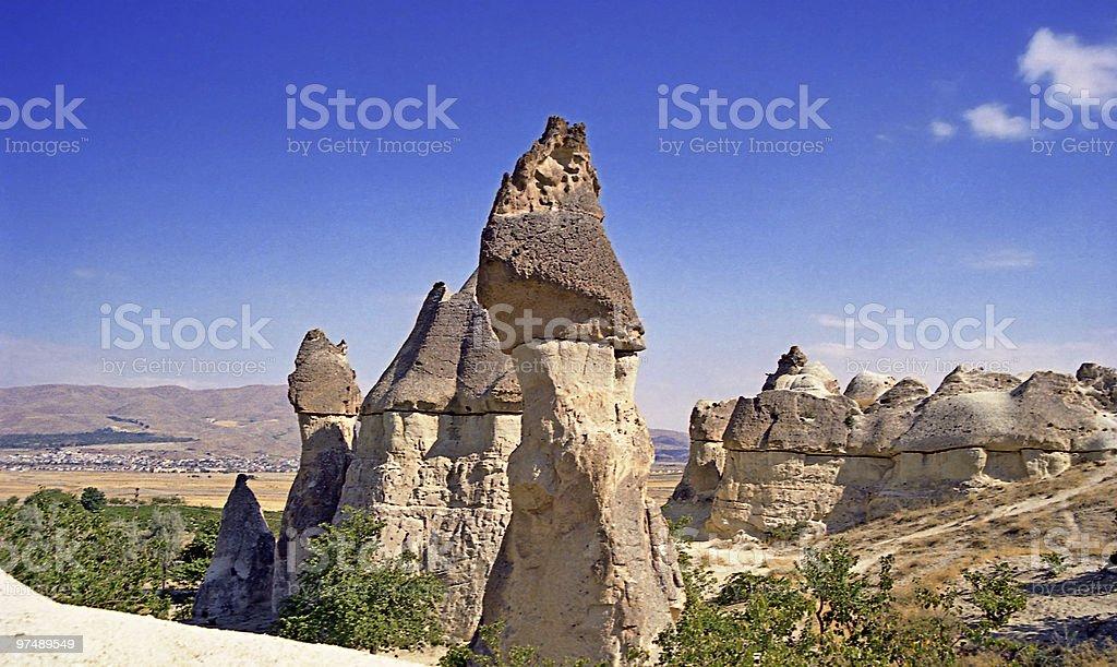 Tresures of Cappadocia - Ilhara Valley royalty-free stock photo
