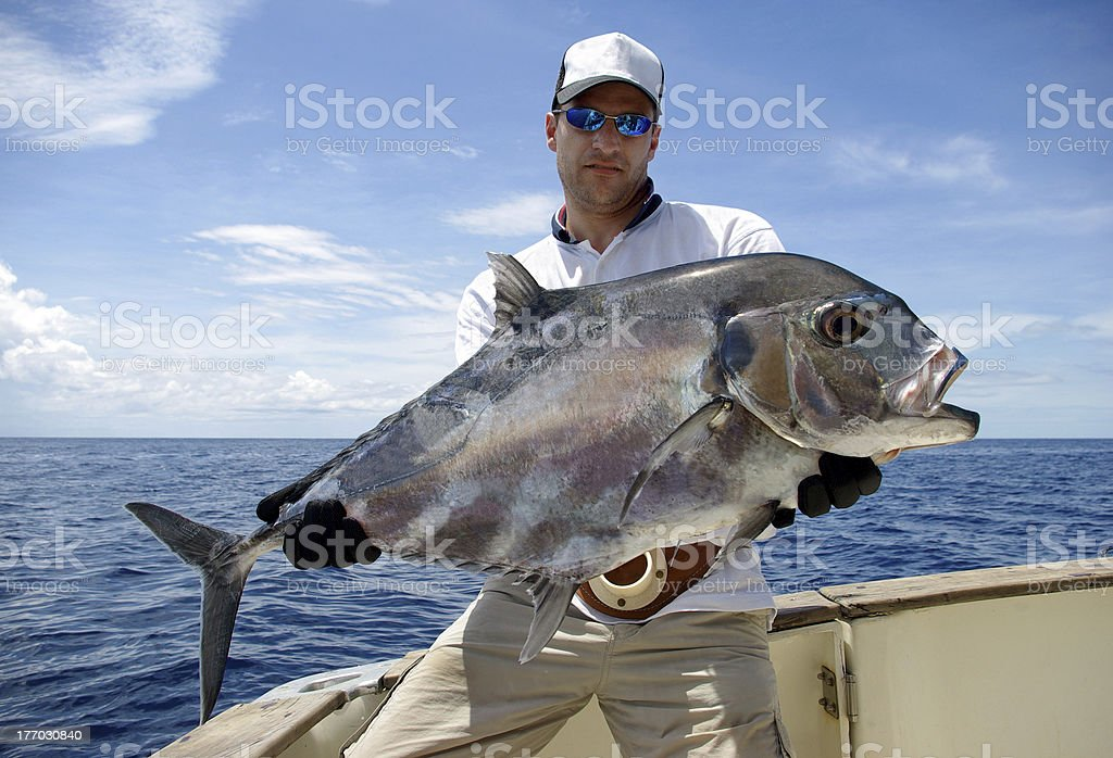 Trevally jack stock photo