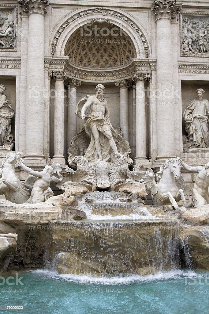 Fontana di Trevi royalty-free stock photo