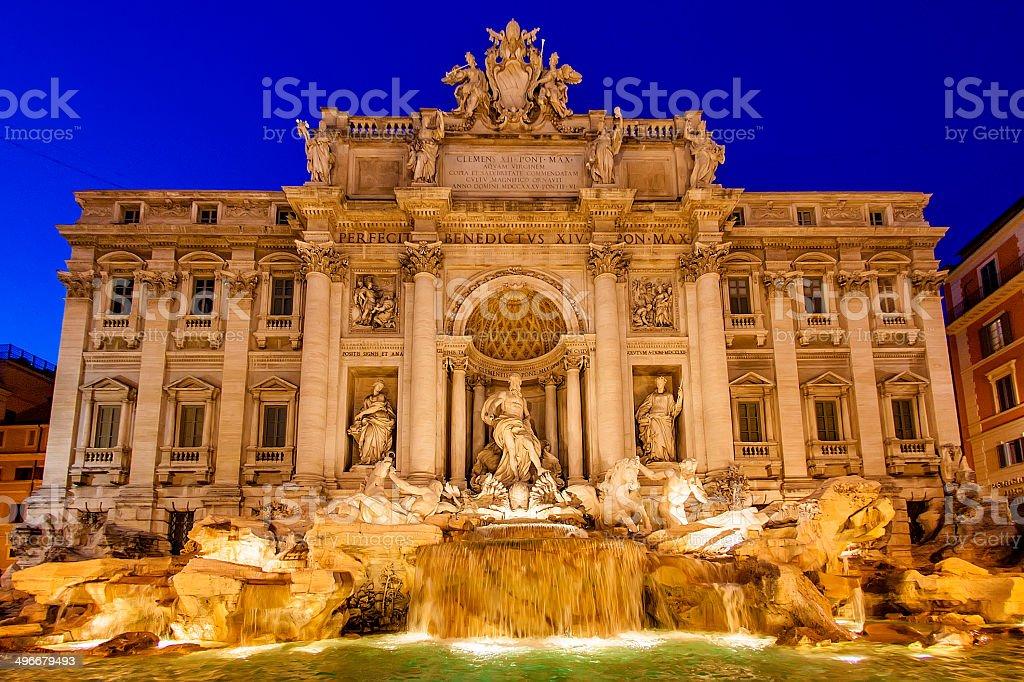 Trevi Fountain, Rome, Italy - Stock Image stock photo