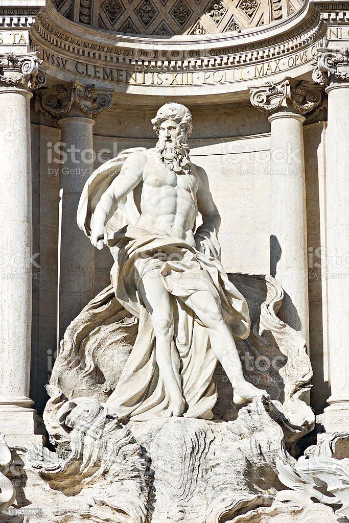 Trevi Fountain, Rome. royalty-free stock photo