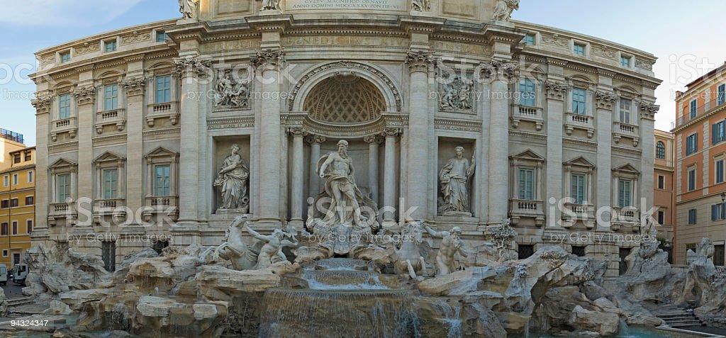Trevi Fountain, Rome stock photo