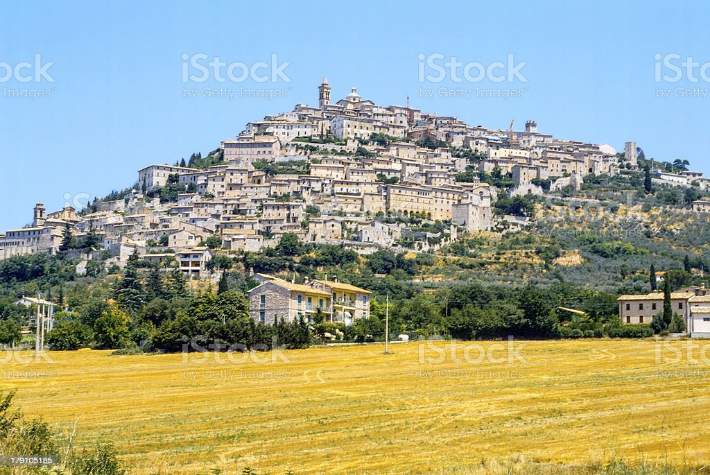 Trevi (Umbria) stock photo
