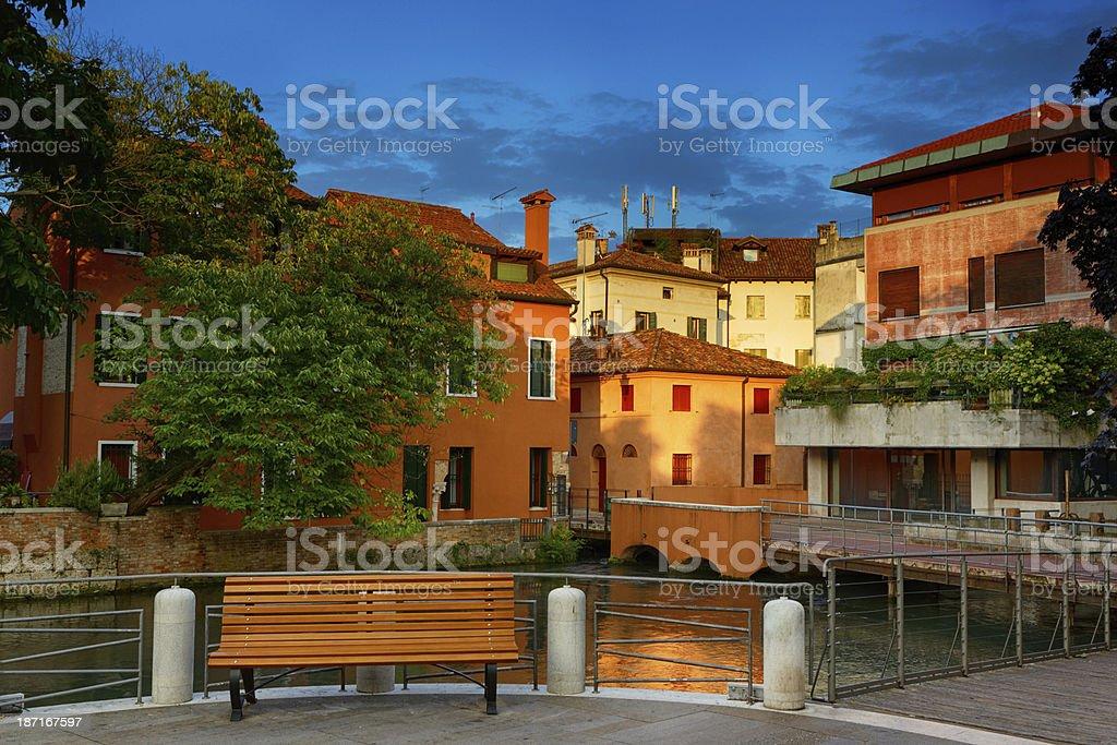 Treviso in Veneto, Italy royalty-free stock photo