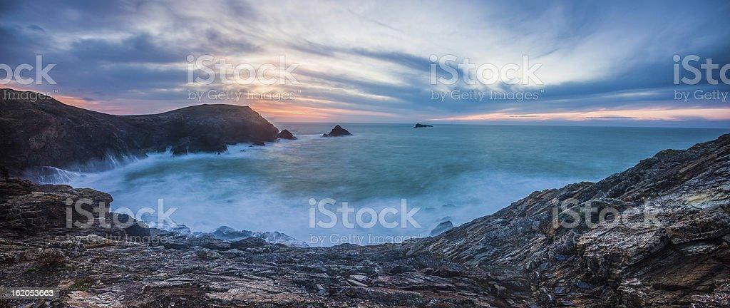 Trevose Head, Cornwall stock photo