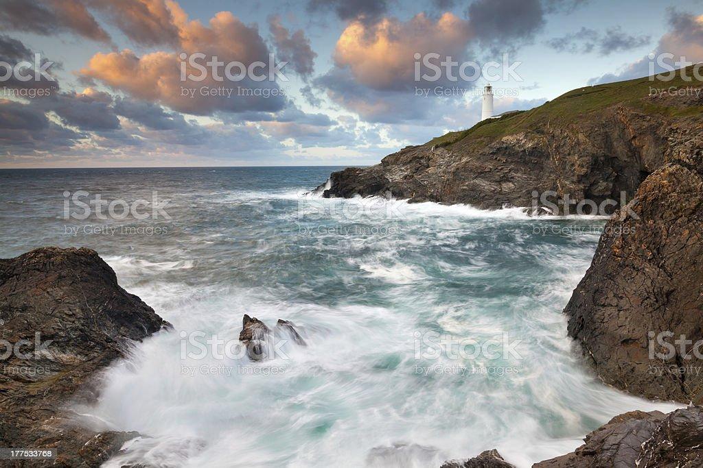 Trevose Head Cornwall photo libre de droits