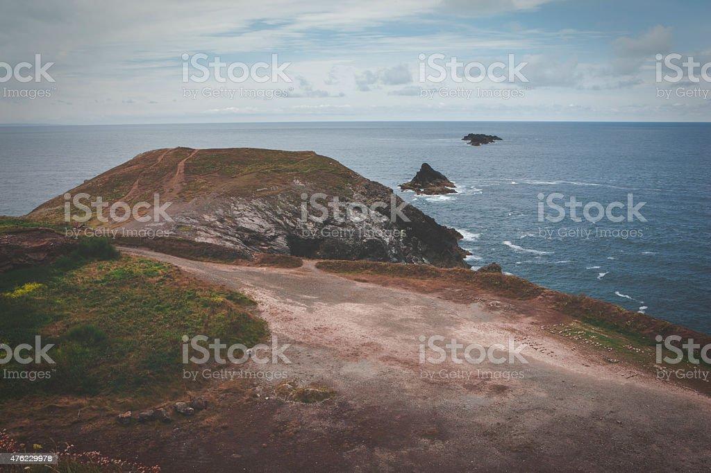 Trevose Head Heritage Coast stock photo