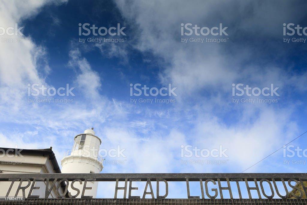 Trevose Head Lighthouse royalty-free stock photo