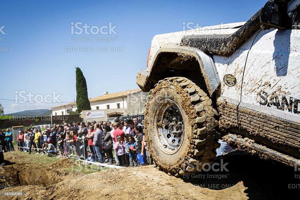 Trial 4x4 royalty-free stock photo