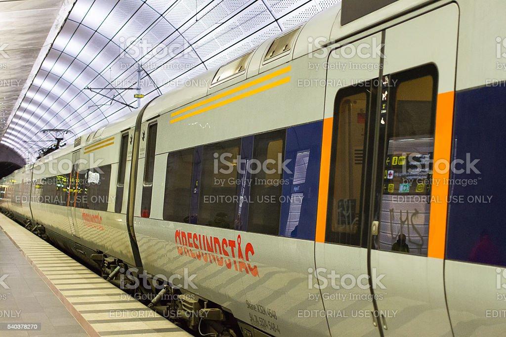 Triangeln Station stock photo