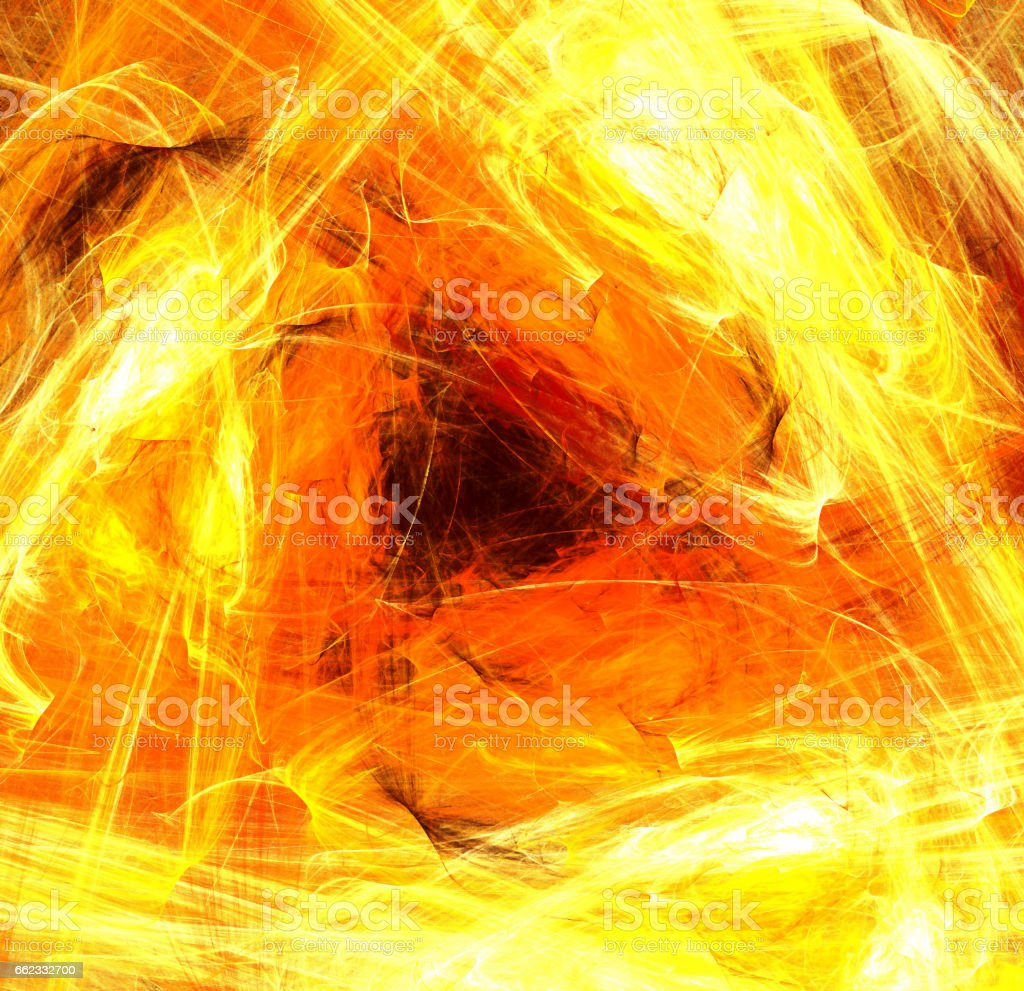 Triangle Flame Abstract stock photo