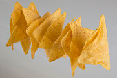 Triangle tortilla chips