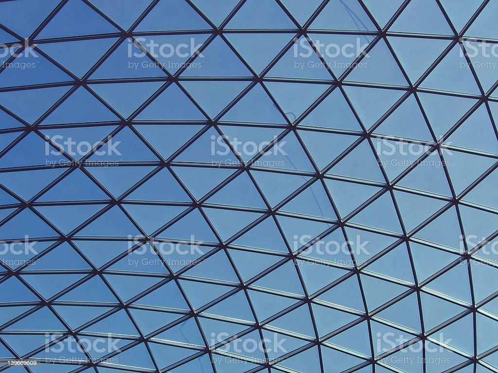 Triangle Windows royalty-free stock photo