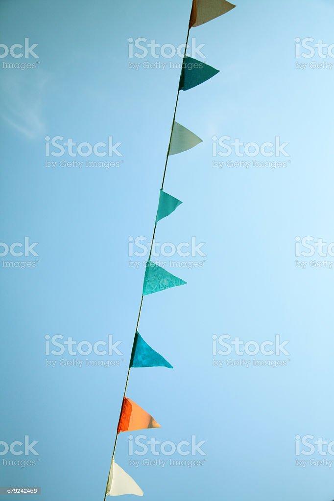 Triangular Pennant stock photo