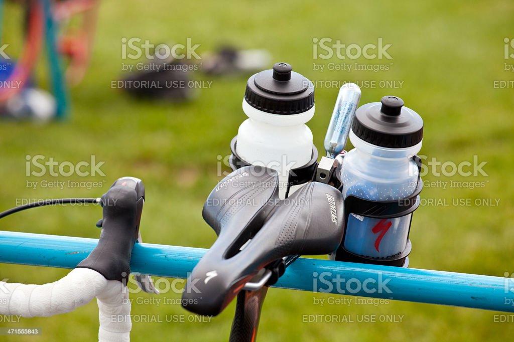 Triathalon Bicycle royalty-free stock photo