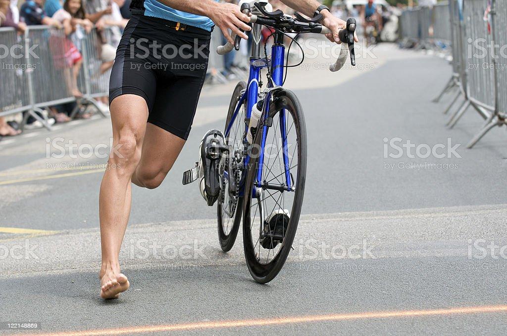 triathlon royalty-free stock photo