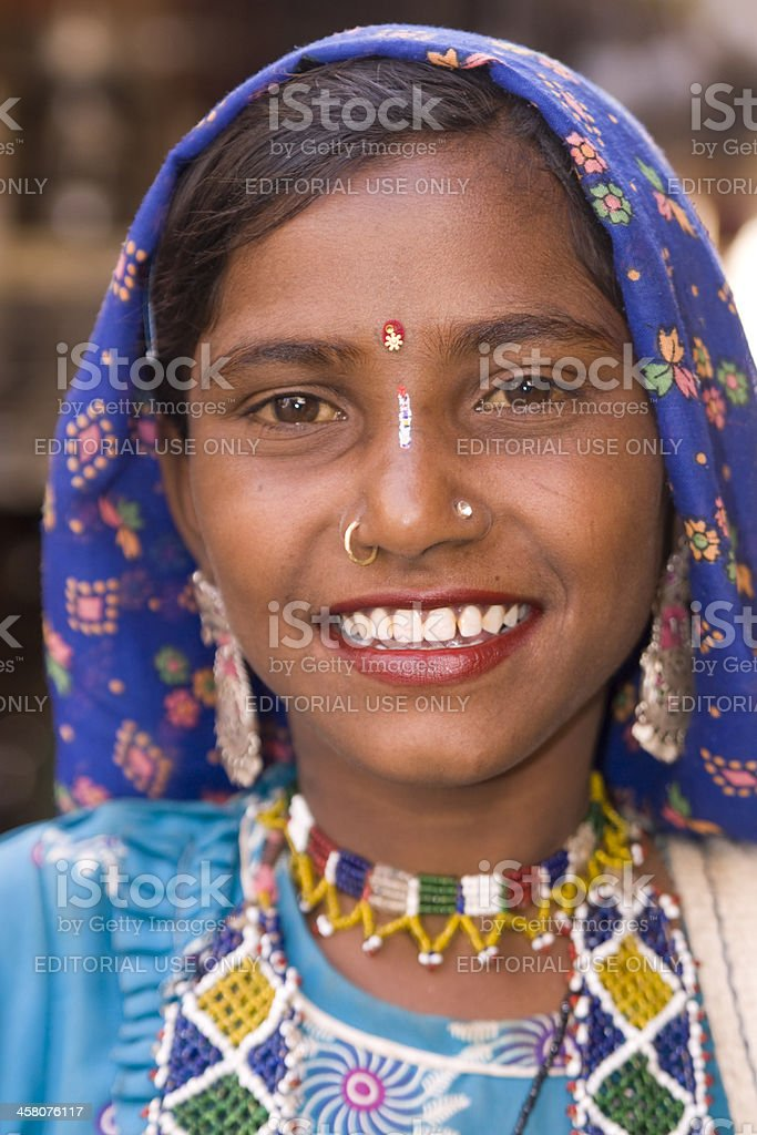 Tribal Woman stock photo