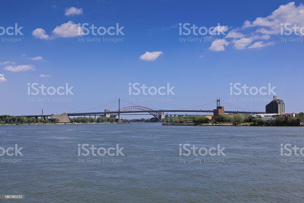 'Triborough Bridge, New York' stock photo