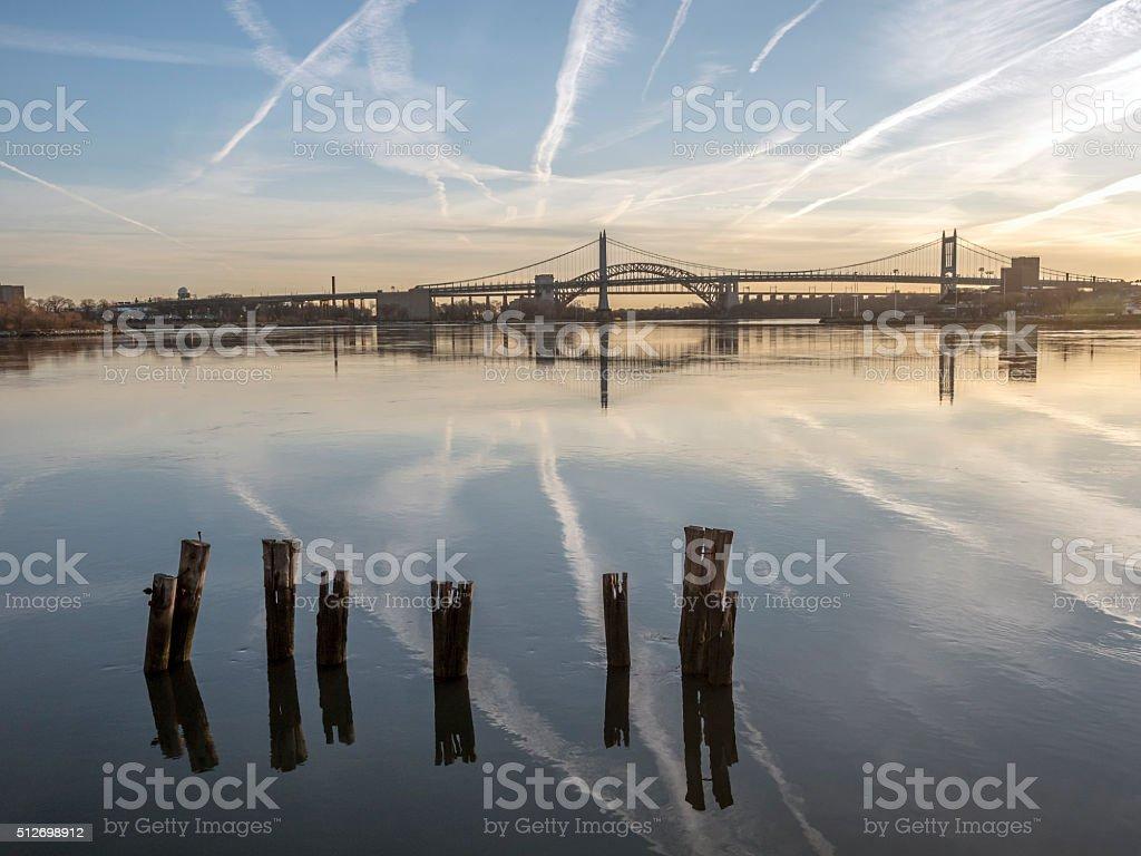 Triborough Bridge, Robert F. Kennedy Bridge stock photo