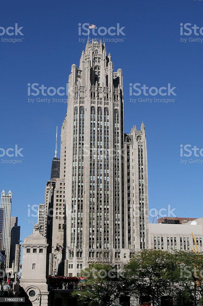 Tribune Building, Chicago royalty-free stock photo