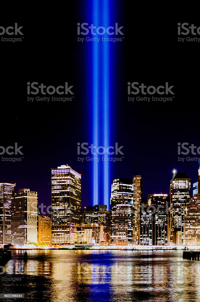 Tribute In Light stock photo