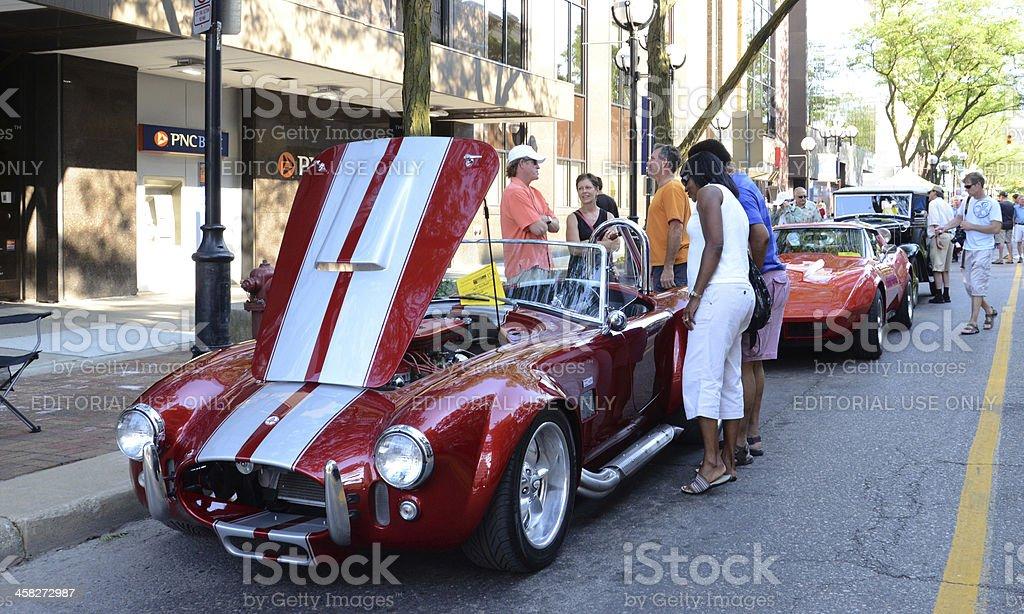 1966 Tribute Shelby AC Cobra stock photo
