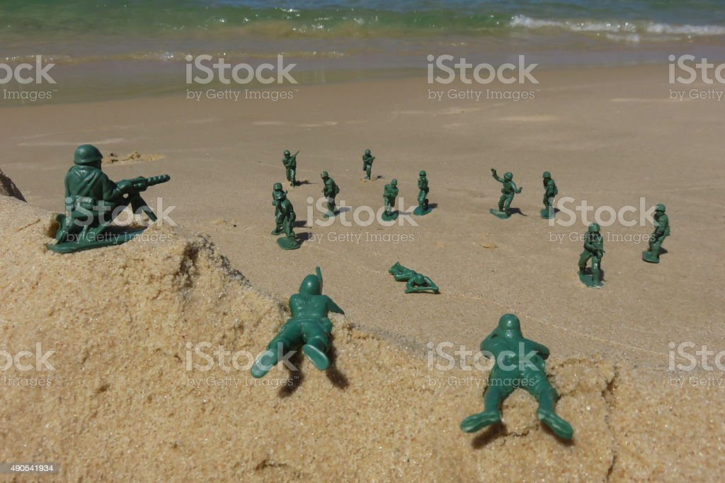 tribute to the heroes of World War II stock photo