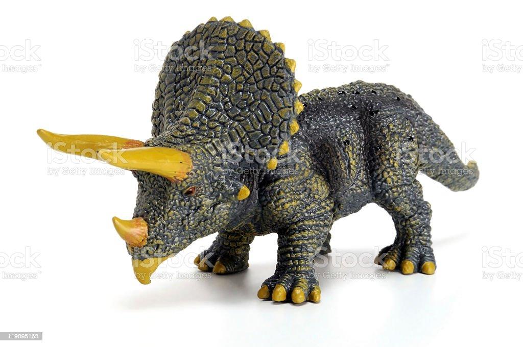 Triceratops horridus stock photo