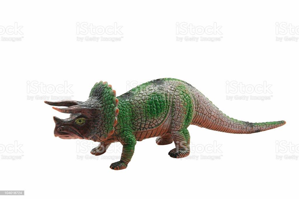 Triceratops stock photo