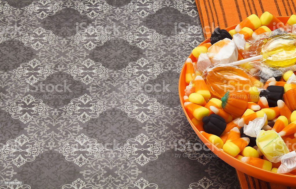Trick Or Treat Candy royalty-free stock photo