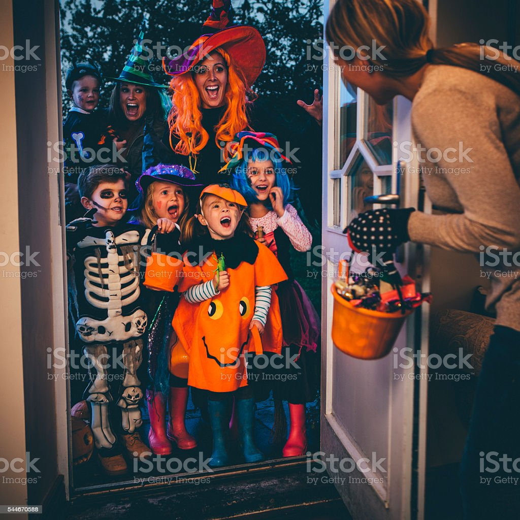 Trick or Treat! stock photo