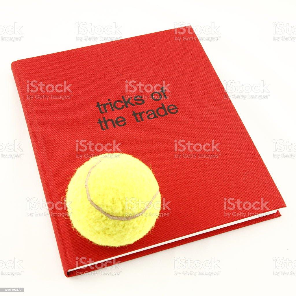 Tricks of the Trade Tennis stock photo