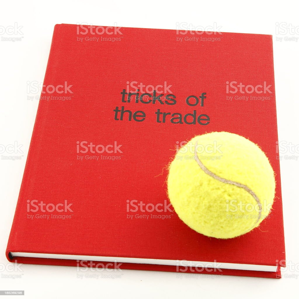 Tricks of the Trade Tennis royalty-free stock photo