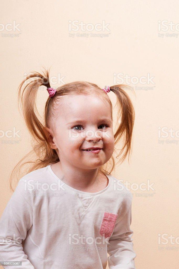 Tricky Girl stock photo