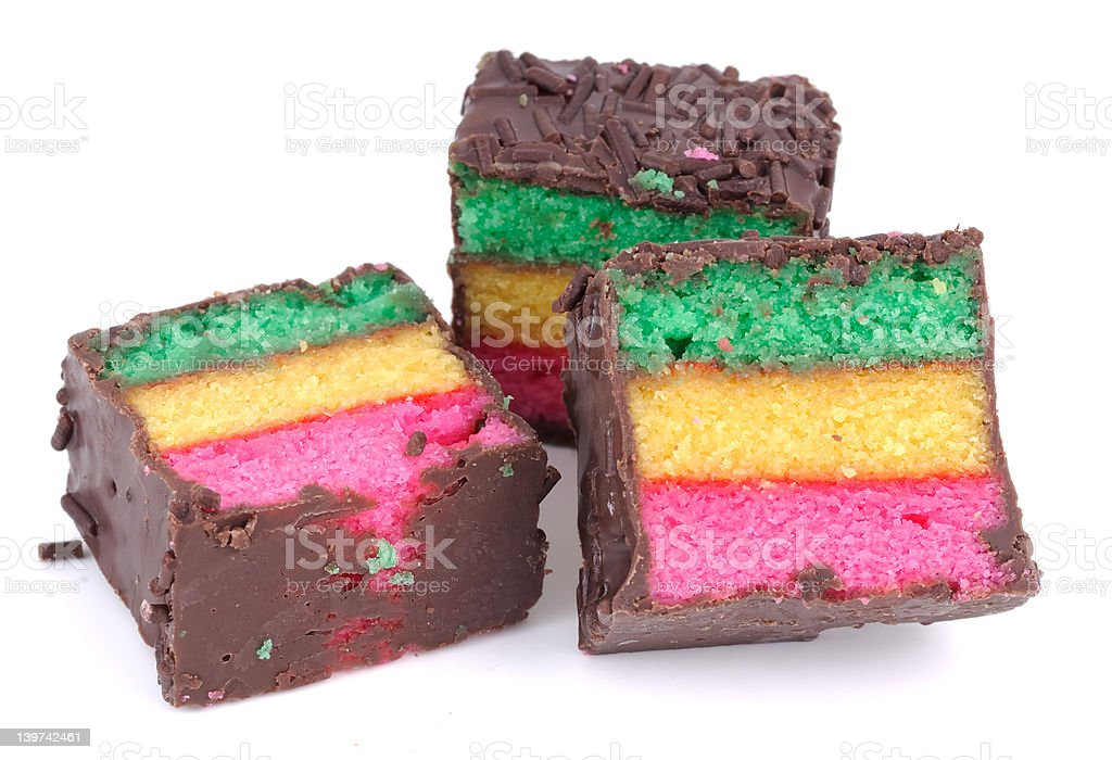 Tricolor Cookies royalty-free stock photo