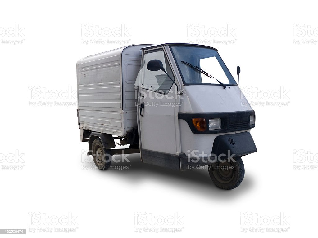 Tricycle royalty-free stock photo