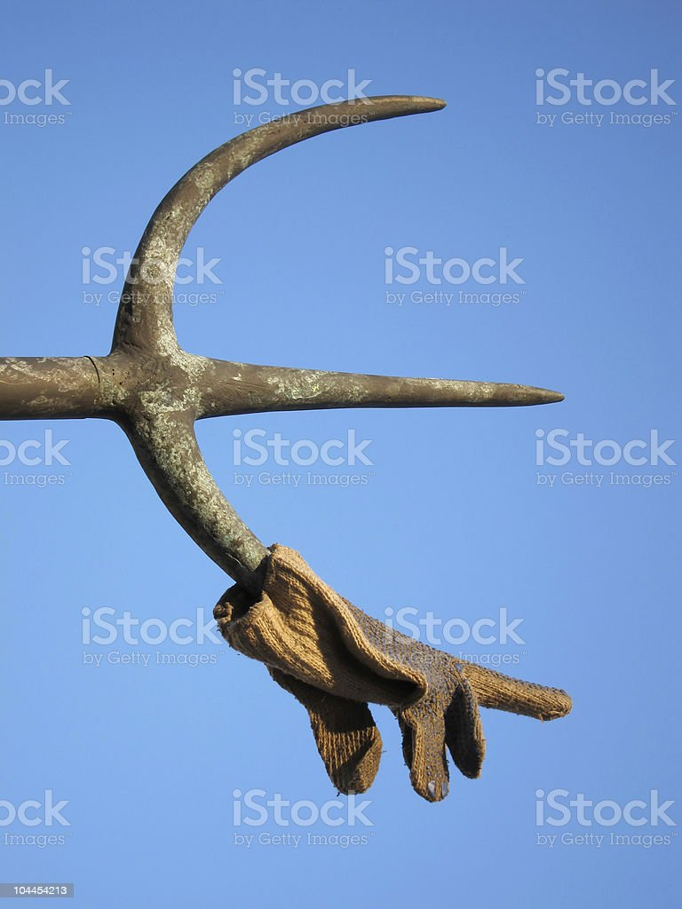 Trident royalty-free stock photo