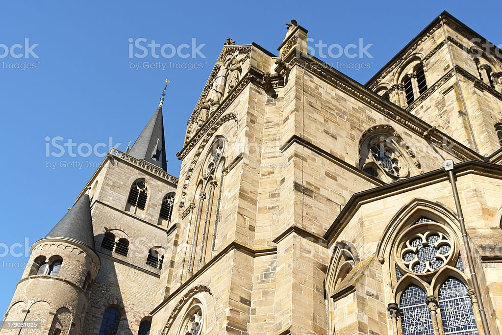 Trier Cathedral, Germany stock photo