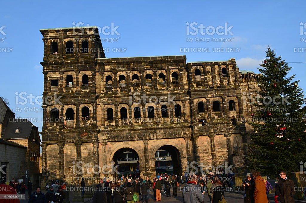 Trier Roman Ruins stock photo