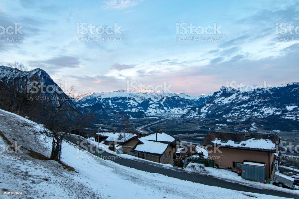 Triesenberg, Liechtenstein stock photo