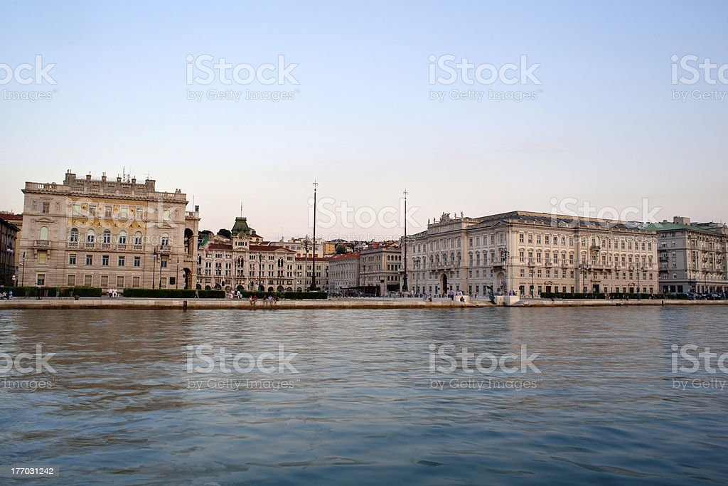 Trieste royalty-free stock photo